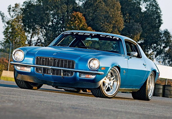 70 / 71 CAMARO FULL BUMPER - Click Image to Close