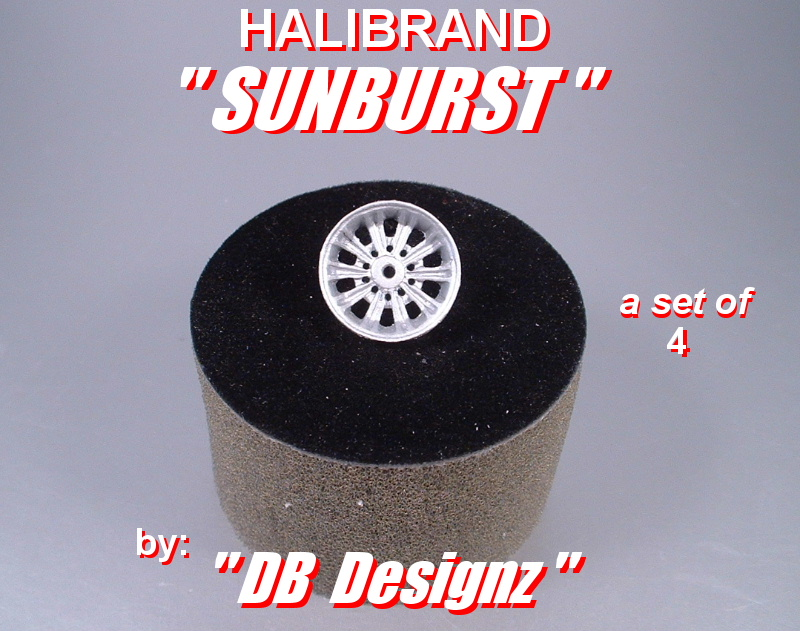 Hilabrand Sunburst Set of 4 - Click Image to Close