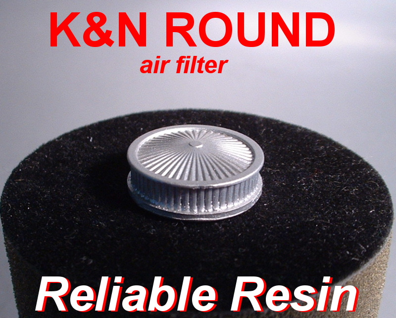 K&N Round Air Filter - Click Image to Close