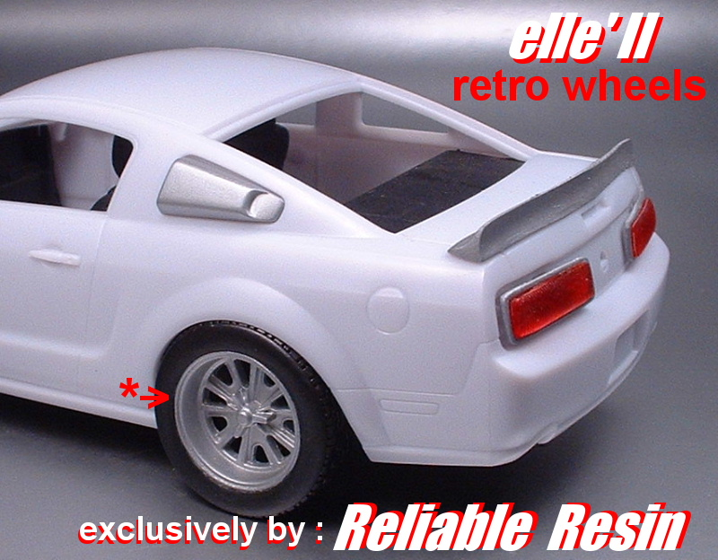 05 - 09 Mustang Elle II Reto Wheel - Click Image to Close