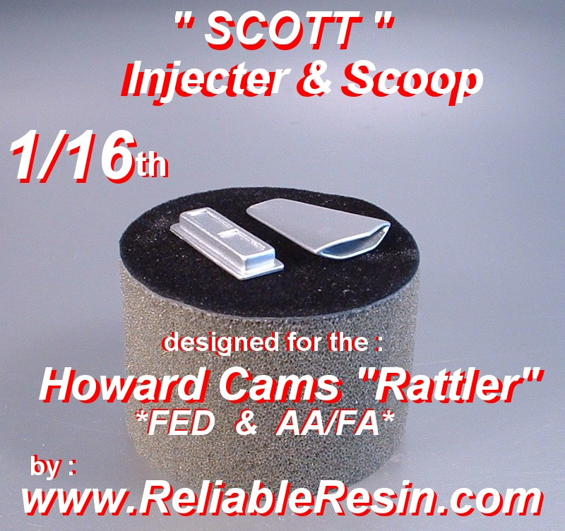 1/16 Scott Injector / Scoop - Click Image to Close