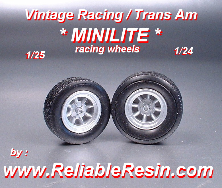 Vintage Racing / Trans Am MiniLite Racing Wheel - Click Image to Close