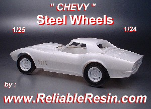 Chevy Steel Wheels
