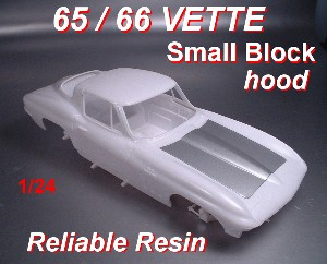 1965 / 66 Corvette Small Block Hood