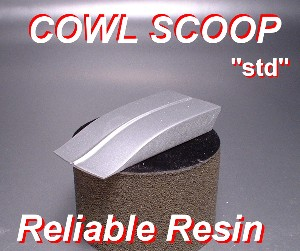 COWL HOOD SCOOP