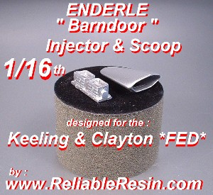 "Enderle ""Barn door"" Injector / Scoop"