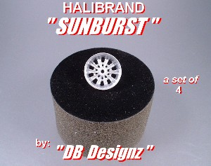 Hilabrand Sunburst Set of 4