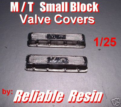 M/T Small Block Valve Covers