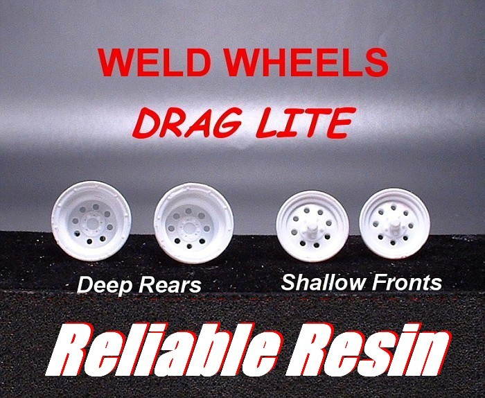 """WELD WHEELS"" *DRAG LITE*"