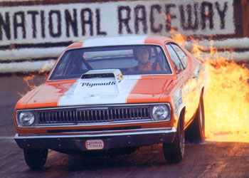 1972 Plymouth Duster Pro Stock Hood