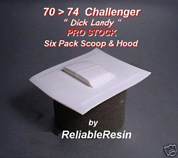 1970/74 Challenger Pro Stock Hood - Click Image to Close