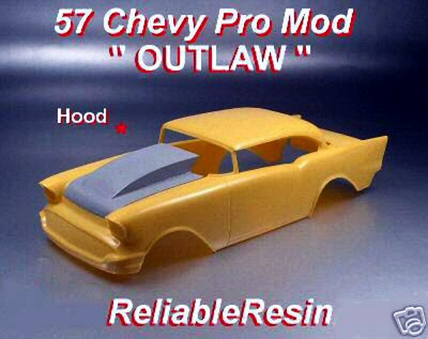 "1957 Chevy Pro Mod ""OUTLAW"" Hood"