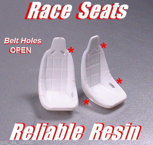 Racing Seats With Open BeltHoles