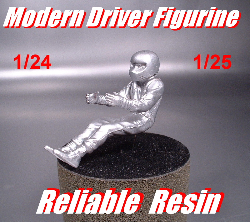 Modern Driver Figurine - Click Image to Close