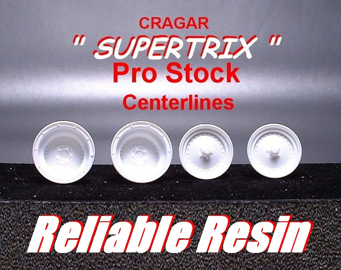 "CRAGAR""SUPERTIRX"" PRO STOCK CENTER LINES."