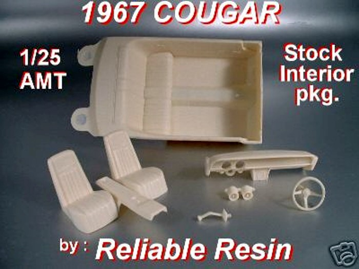 1967/68 Cougar Complete Interior Package - Click Image to Close