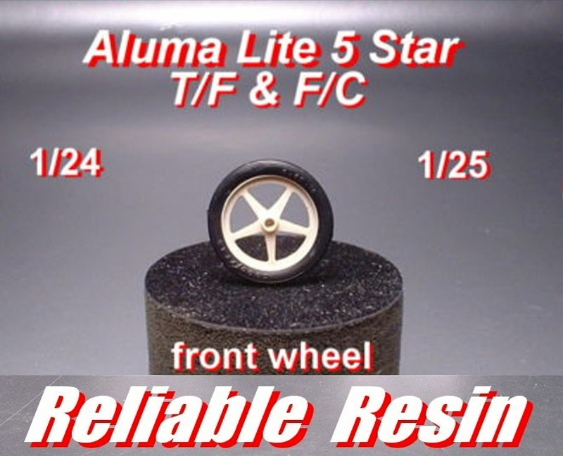 Aluma Lite 5 Star Weld Wheel & Tire T/F & F/C - Click Image to Close