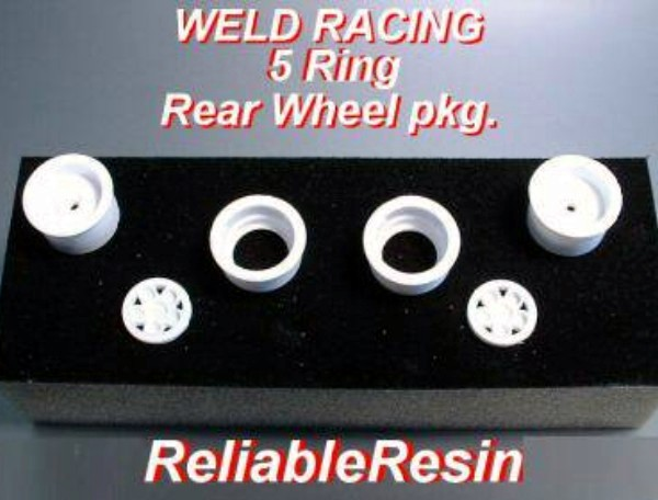 """Weld Racing 5 Ring Rear Wheels"""
