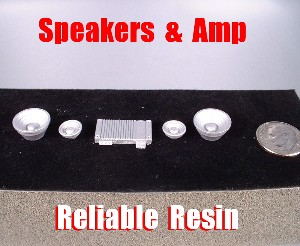 Speakers & Amp