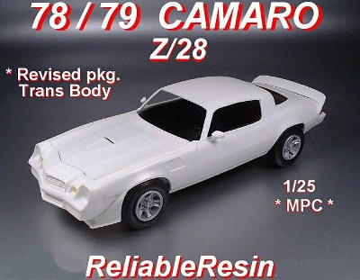 78-79 Z28 CAMARO Resin Trans Kit