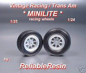 Vintage Racing / Trans Am MiniLite Racing Wheel