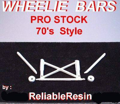 70's Wheelie Bars